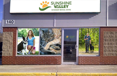 Contact Sunshine Valley Veterinary Clinic